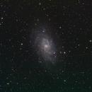 M33 - LRGB - Tak85EDX first light,                                Rodolphe Goldsztejn
