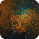 Flaming Star Nebula IC 405,                                  Daniel Kusz