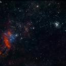 IC4628 Prawn Nebula,                                Fernando De Ronzo