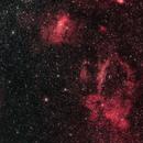 Bubble Nebula and Lobster Claw Nebula,                                Nicholas Gialiris