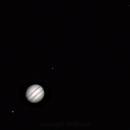 Jupiter and the 4 Galilean Moons,                                William Philpot