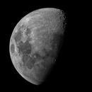 Moon, 2 panel mosaic, 5/1/2020,                                doug0013