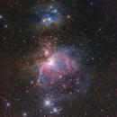 M42 Great Orion Nebula (near infrared),                                Toshiya Arai