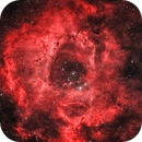 Rosette Nebula in H-alpha and OIII mix,                                MicRaWi