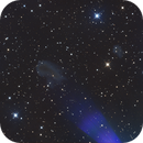 IC423 (Teardrop) and IC424 between Mintaka and Alnilam,                                  Albert van Duin