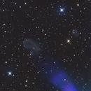 IC423 (Teardrop) and IC424 between Mintaka and Alnilam,                                Albert van Duin