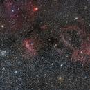 M52, NGC7635 and Cie,                                Frédéric Mahé