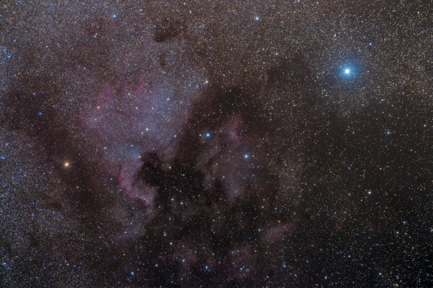 North America and Pelican Nebulae - Challenging Conditions,                                Gabriel R. Santos...