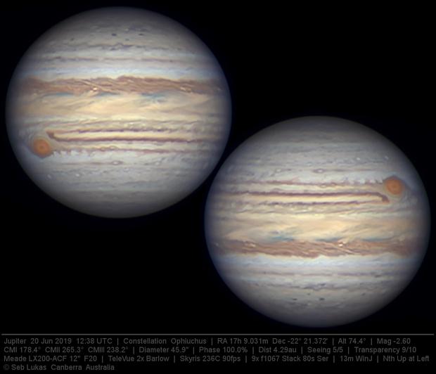 Jupiter 20 Jun 2019 - 13 min WinJ composite 2/3,                                Seb Lukas