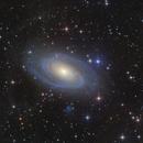 M81 Bode's Galaxy,                                  Anzhou He