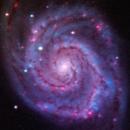 M51 - Whirlpool [RGB],                                Rich Sky