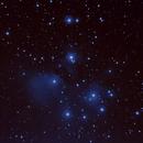 Messier 45 Pleiades,                                Stephen Harris