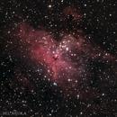 Messier 16 - NEBULOSA DEL ÁGUILA,                                Esteban García Navarro