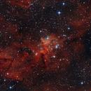 Heart of the Heart Nebula,                                Donovan