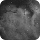 Sharpless in Cas  [Sh2-199 & 201] - Part of the Soul Nebula,                                G400