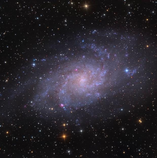 M 33 - The Triangulum Galaxy,                                Alessandro Carrozzi