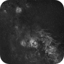 Sh2-132 Lion Nebula to Cirrus Nebula - Test Shot,                                Rolf Dietrich