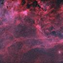 Propeller Nebula and surroundings in BiColor,                                Jonas Illner