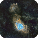 M8 & M20 narrowband widefield in Sagittarius,                                Adam T.