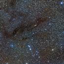 Taurus Dunkelwolke mit Plejaden,                                Franz Gruber