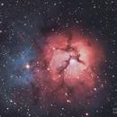Third Trifid is the Charm (Messier 20),                                John Michael Bellisario