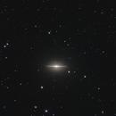 Sombrero Galaxy M104,                                bigeastro
