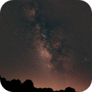 Southern Milkyway with Raleigh NC light dome,                                JD