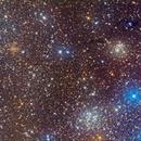 IC166, NGC654 & NGC663,                                David Cheng