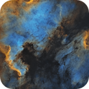 starless North america & Pelican nebula,                                U-ranus