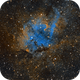 The Lion nebula (Sh2-132),                                Sasho Panov