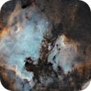 North American and Pelican Nebulae, NGC7000 and IC5070,                                alistairmac
