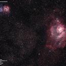 M20 e M8 - Trifida e Laguna,                                Victor Brasil Sabbagh