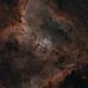 Heart Nebula in Bi-Colour Ha & OIII,                                Chris