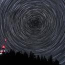 Star trails above Snezhanka,                                Grozdan Grozev