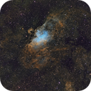Messier 16 and the Eagle/Star Queen Nebula (Hubble Palette),                                Diego Cartes