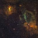Sh2-157, Sh2-162, Sh2-159, NGC7510, M52,                                zombi