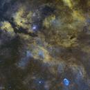 Sadr Region and NGC 6888,                                Rodrigo Andolfato