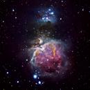Orion and Running man Nebula,                                Kapil K.