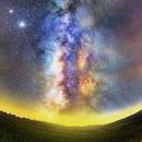 Panoramic of Milky Way,                                Astrofotógrafos