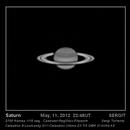 Saturno, 11 de mayo de 2012,                                SERGIT