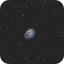 The Crab Nebula (M1) in SHO,                                Chuck's Astrophot...