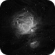 Orion Nebula in Ha,                                Wayne H