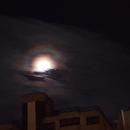 Moon Jupiter behind clouds,                                Anton Karl Seewal...