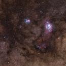 Lagoon and Trifid Nebulae - M8-M20 ,                                Gabriel R. Santos (grsotnas)