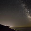 Milky Way over Lake Michigan,                                David Schlaudt