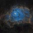 Messier 8 (The Lagoon Nebula),                                Jian Yuan Peng