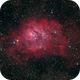 M8 - The Lagoon Nebula,                                wadeh237