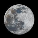 Full moon in RGB,                                Gregor Vojščak