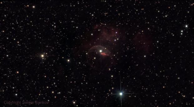 NGC 7635, Bubble Nebula.,                                Sergei Sankov
