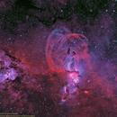 Statue of Liberty Nebula,                                Uri Abraham